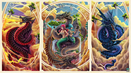 Dragons by EdgarSandoval