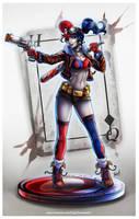 Harley Quinn by EdgarSandoval