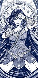 Day Wonder Woman by EdgarSandoval