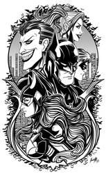 Batman by EdgarSandoval