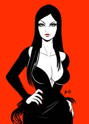 Morticia by EdgarSandoval