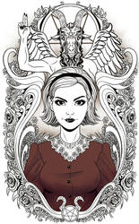 Sabrina Fan art by EdgarSandoval