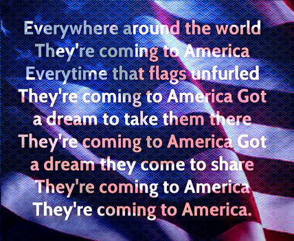 They're Coming to American Mouse Pad by FLAMEonfire2