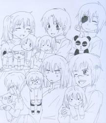 D.gray-man kids by alpha-Ikaros