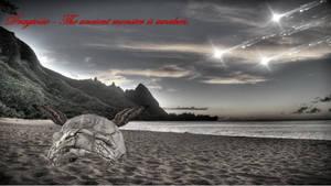 Dragtoise - the ancient monster is awaken by DerTypographist