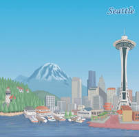 Seattle by discogangsta