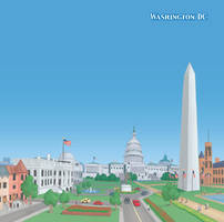 Washington DC by discogangsta
