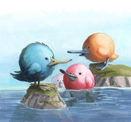 Puff ducks by discogangsta