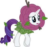Rarity Flower vector by DeyrasD