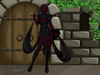 Random Demon character by WhiteCattheheroqueen