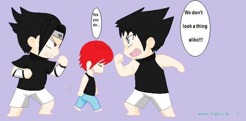 Sasuke vs Kody by Pancakegirl432