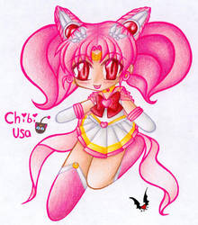 Chibi Usa in Colour by shiin