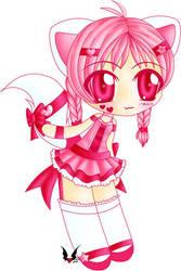 Pink Kitty Lolita by shiin
