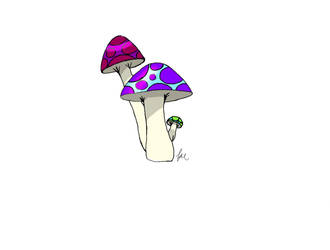 Magical Shrooms by yeahiknowshutup