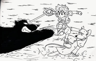 Kingdom Heart : Sora and Basil - Defeat Ratigan by doraemonbasil