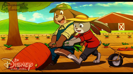 Zootopia : Summer on the farm by doraemonbasil