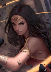 Wonder Woman by Arcanedist