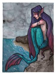 Mermaid by moriquenda