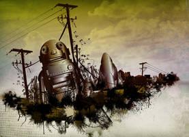 retro robots by dronograph