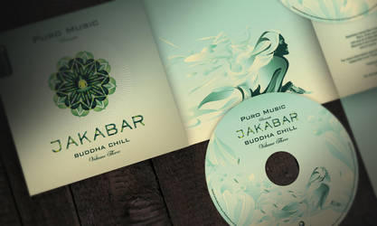 Album cover CD booklet design by dronograph