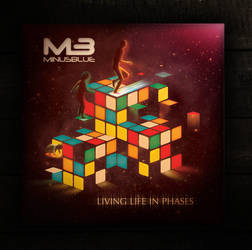 MinusBlue Album Artwork by dronograph