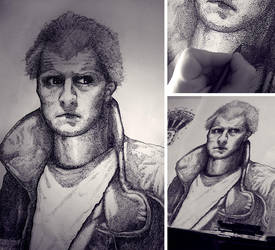 Roy Batty-Blade Runner by dronograph