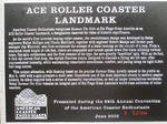 Batman: The Ride ACE Coaster Landmark Plaque by BEAMER3K