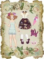 Neko-Loli paper doll by CandyMermaid