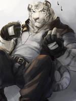 Tiger Ralph by RalphTheFeline
