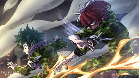 My Hero Academia - Fight! (1/2) by Banana-Banshee