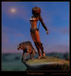 the Pumpkin Queen by RetroDevil