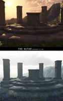 The altar- Vue versions by RetroDevil