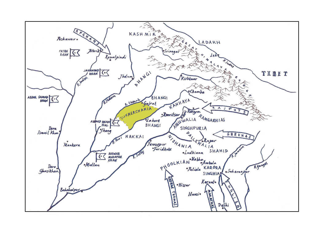 NORTHERN INDIA 1780 by hellbat