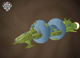 Quintesson Assault Ship - colours by hellbat
