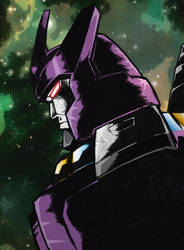 Colours on Black Ops Galvatron by Optimus8404 by hellbat