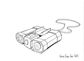 Binocular by hellbat
