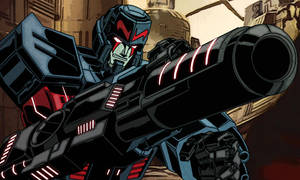 Colours on Megatron origins by Largecats by hellbat