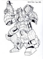 IDW style Fort Max by hellbat