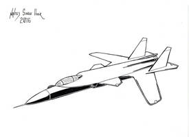 SU-47 Berkut (2) by hellbat