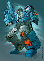 Fortress Maximus collab by hellbat