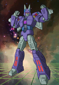 Colours on Cassey's Cyclonus by hellbat