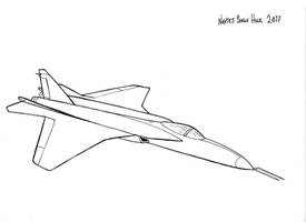 Firefly Medium Combat Aircraft by hellbat
