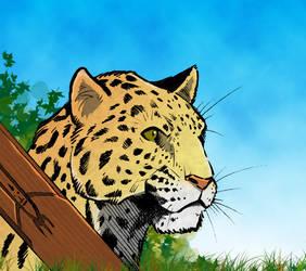 Jaguar collab by hellbat