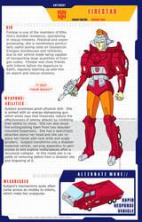 Firestar bio collab by hellbat