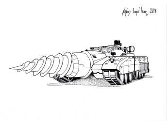 Drilltank by hellbat