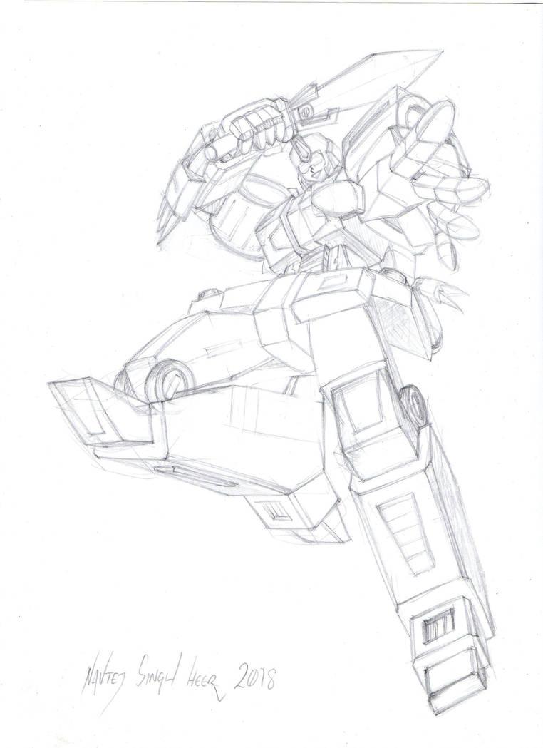Slash - sketch by hellbat