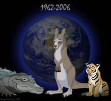 R.I.P. Steve Irwin by DragonCat-Ink