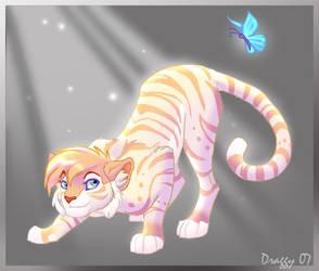 Golden Dancer by DragonCat-Ink