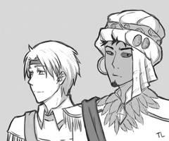 Two princes by Tayo-kun