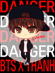 V Danger BTS x THANH by lvlkatty
